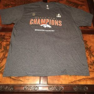 Super Bowl championship t shirt broncos